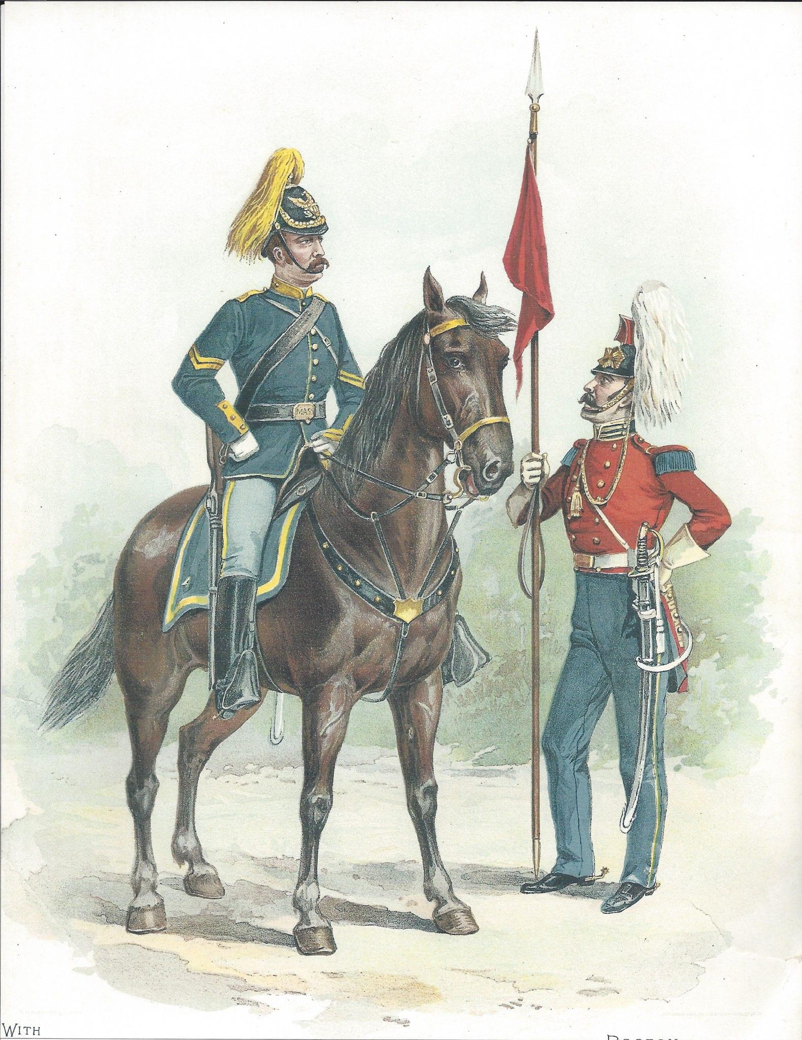 Lancers illustration